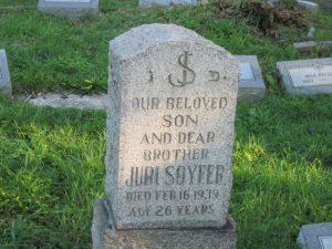 Juri Soyfer Gedenkstein