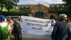 Akademie Tutzing Demo Asyl