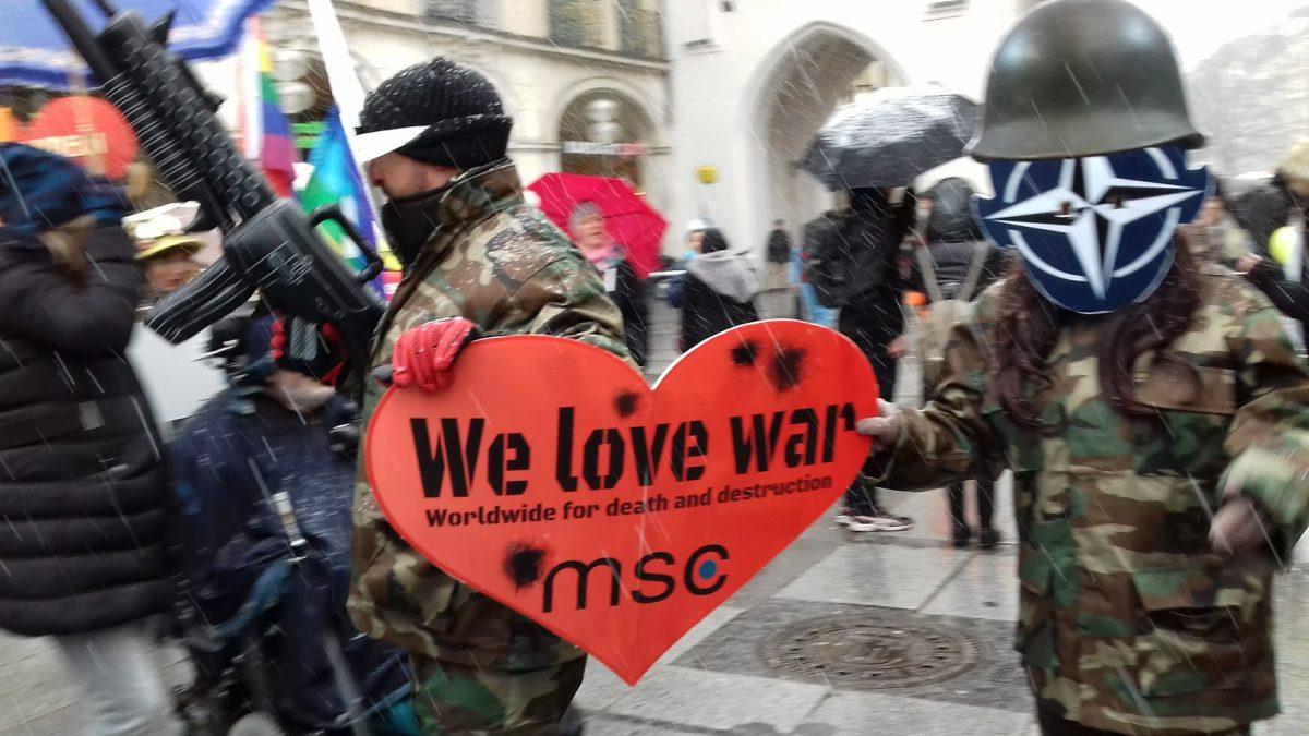 we love war im lauf