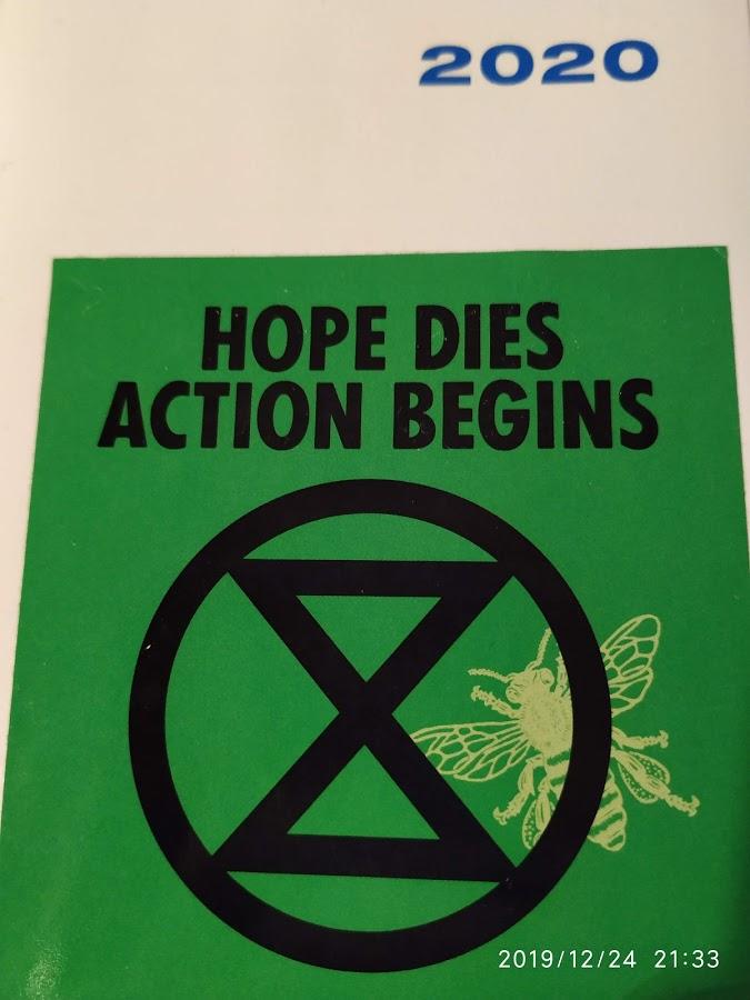 Hope Dies Action begins